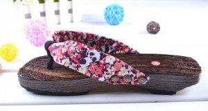 chaussures traditionnelles japonaises geta