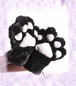 pattes de chat peluche