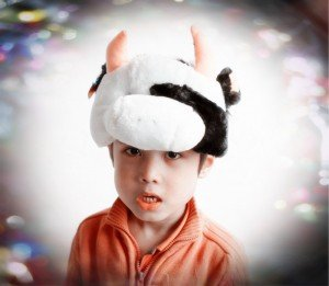 bonnet peluche enfant
